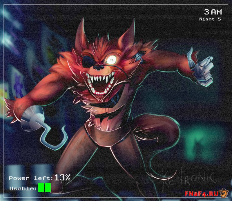 Фокси из Five Nights at Freddys