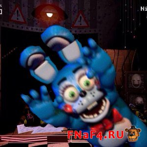 Toy Bonnie Five Nights at Freddy's 2