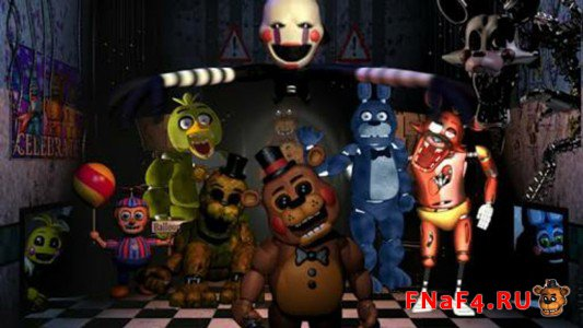 Five Nights at Freddy's 2 1 ночь