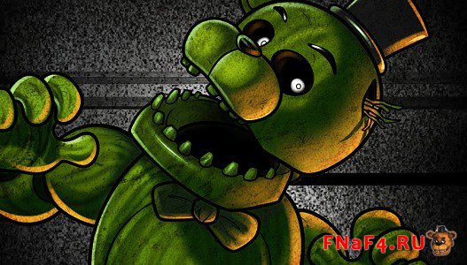 Фантом Фредди из Five Nights at Freddy's 3
