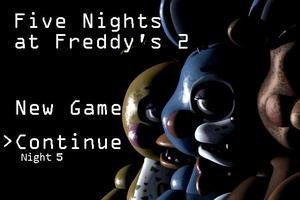 Five Nights at Freddys 2 на Андроид