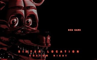 Игра FNaF Sister Location: Custom Night