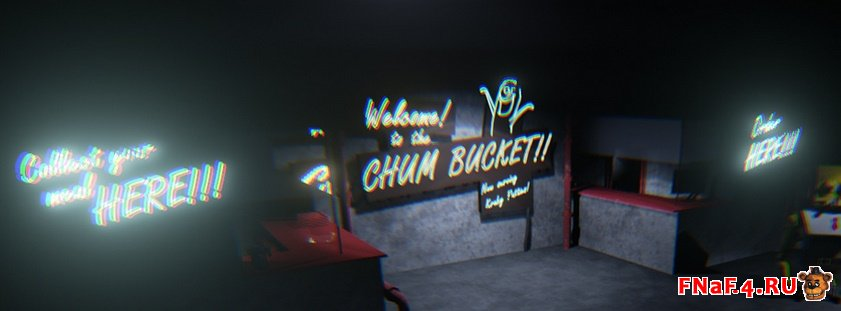Five Nights at the Chum Bucket