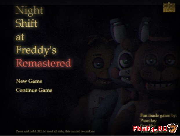The Night Shift at Freddy's