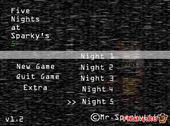 Five Nights at Sparky's 5