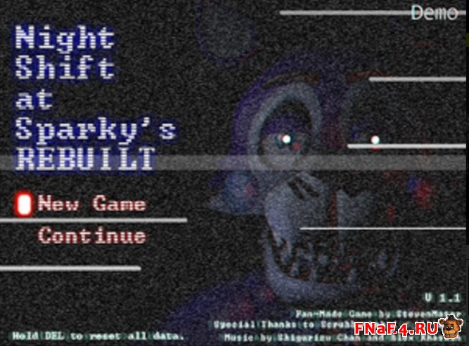 Night Shift at Sparky's: Rebuilt