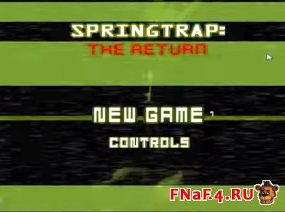 Springtrap: The Return