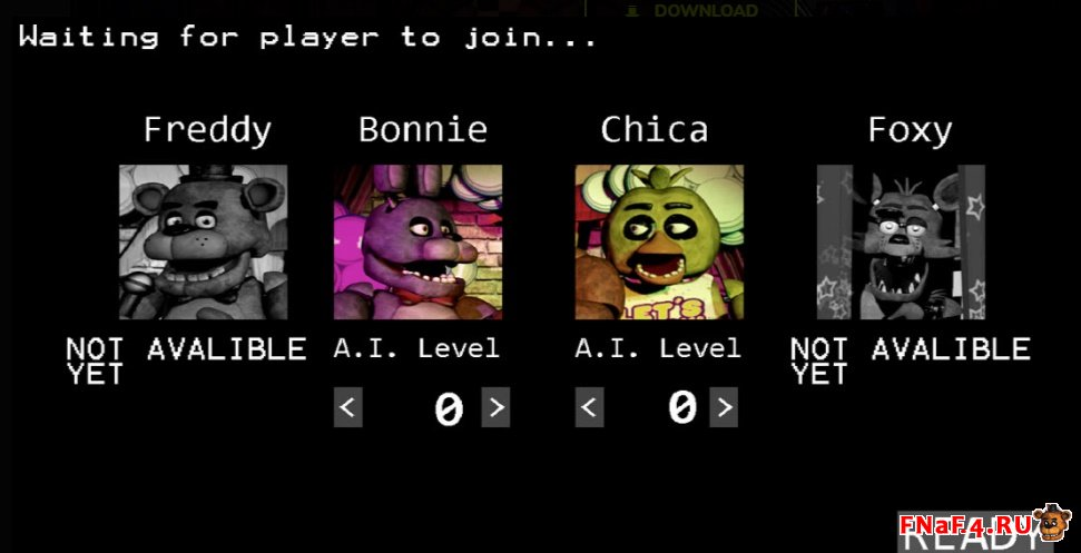 Five Nights at Freddy's Custom Night Multiplayer