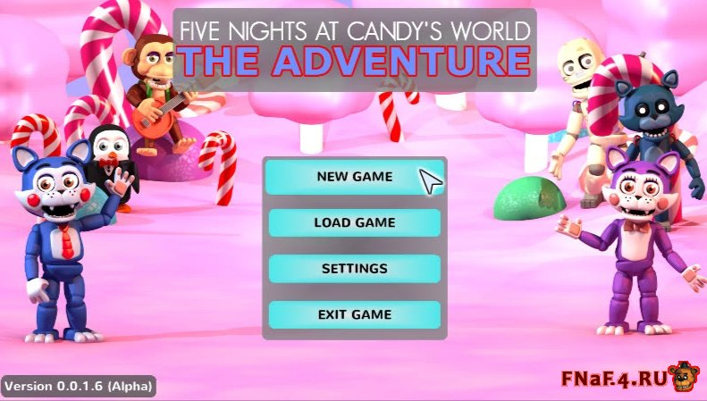 Five Nights at Candy's World: The Adventure