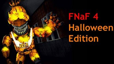 FNaF 4 Halloween edition