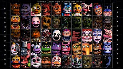 FNaF 7 Ultimate Custom Night