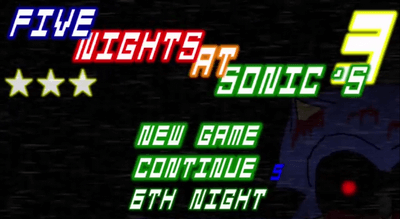 Five Nights at Sonic's 3