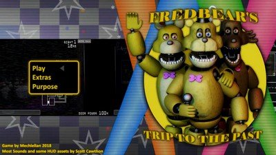 Fredbear's Trip to the Past