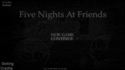 Five Nights at Friends