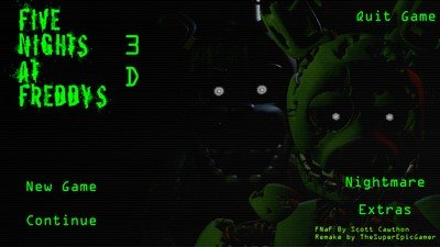 Five Nights at Freddy's 3D