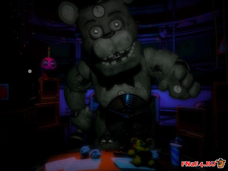 Скачать FNaF Ultimate Edition 3 - хоррор пародия на ФНаФ