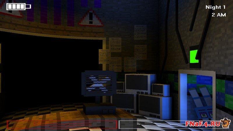 Скачать Five Nights in Minecraft: Remastered – пародия 5